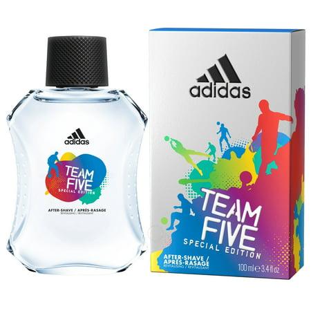 Adidas Team Five 3.4oz. After Shave Splash-on (Special Edition) for (Best Men's Aftershave Splash)