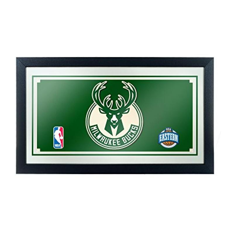 NBA Milwaukee Bucks Framed Logo Mirror