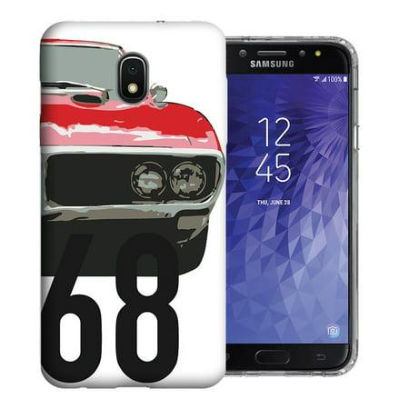 MUNDAZE Samsung Galaxy J3 J337 2018 Achieve/ Express Prime 3/ Amp Prime 3, UV Printed Design Case - 1968 Firebird Design Phone Case -