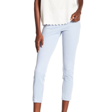 Amanda & Chelsea Womens Alex Ponte Knit Cropped Pants ()