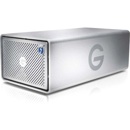 G-Technology G-RAID Removable Thunderbolt 3 20000GB Silver NA (G Technology 8tb G Raid Thunderbolt Hard Drive)