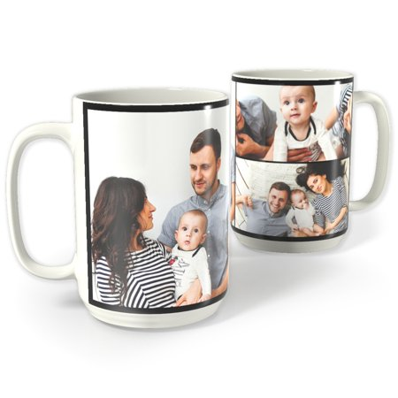 - Photo Collage Mug, 15 oz