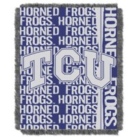 """TCU Horned Frogs The Northwest Company College Double Play 46"""" x 60"""" Woven Blanket - No Size"""