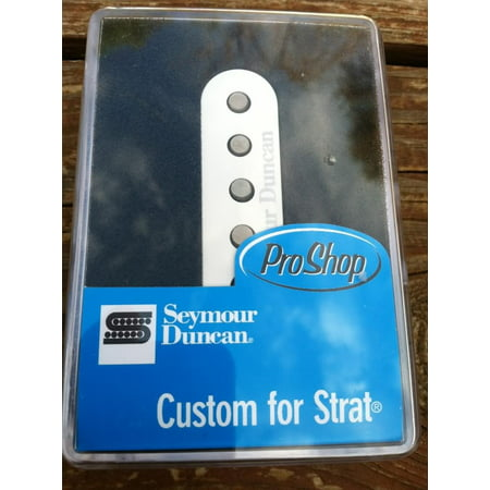 Seymour Duncan SSL-5 Custom Staggered Strat Pickup WHITE Fender Stratocaster -