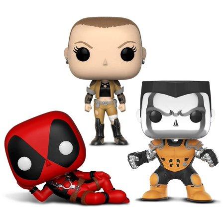 - Warp Gadgets Bundle - Funko Pop X-Men - Colossus [Chrome] - L.A. Comic Con Exclusive and Funko Pop Marvel Deadpool Parody - Deadpool and Negasonic (3 Items)