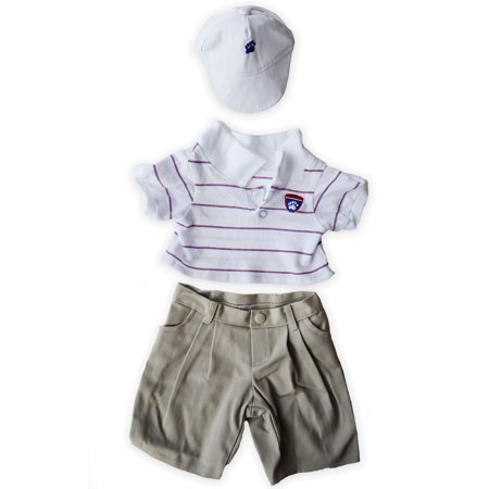 golf outfit teddy bear clothes outfit fits most 14