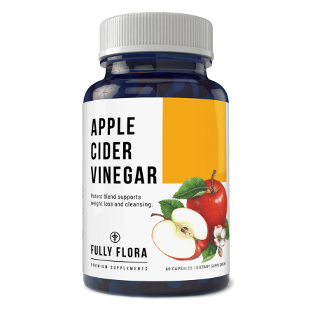 Fully Flora High Potency Apple Cider  Vinegar 1150 mg Complex Capsules (1