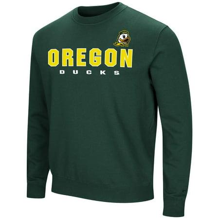 University of Oregon Ducks Sweatshirt Playbook Crew Neck (Oregon Crew Sweatshirt)