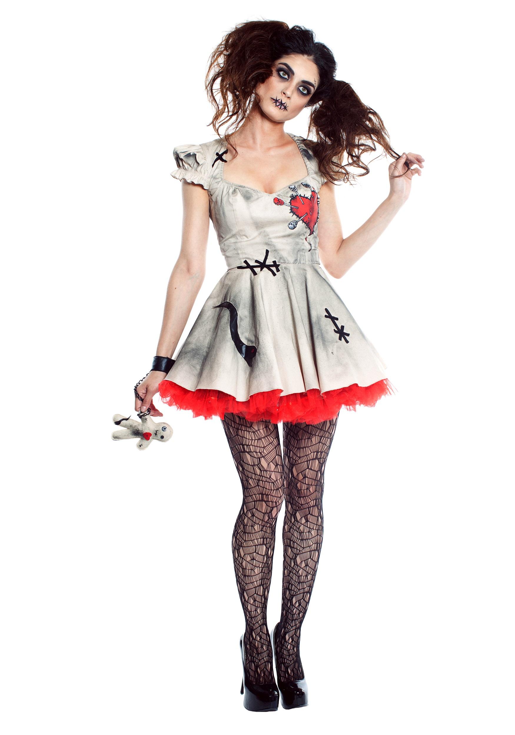 Womens Voodoo Doll Costume - Walmart.com