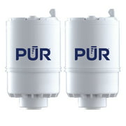 PUR Faucet Mount Water Filter Replacement, RF33752, 2 Pack