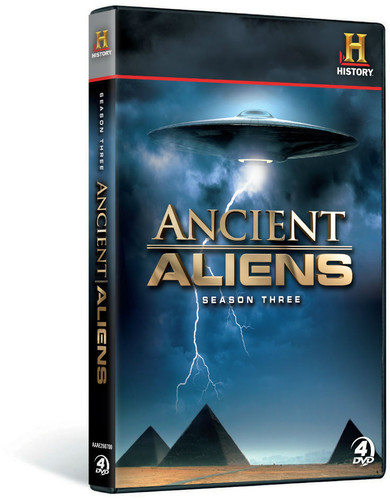 Ancient Aliens: Season 3 (DVD) by ARTS AND ENTERTAINMENT NETWORK