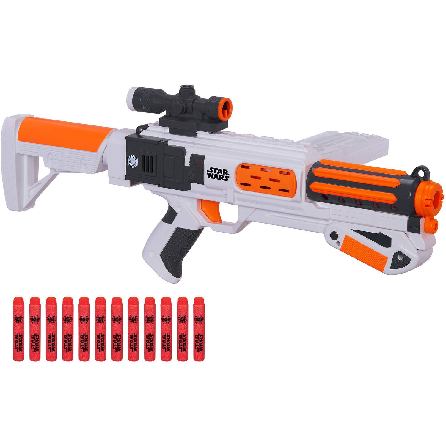 Star Wars Nerf Episode Vii First Order Stormtrooper Deluxe