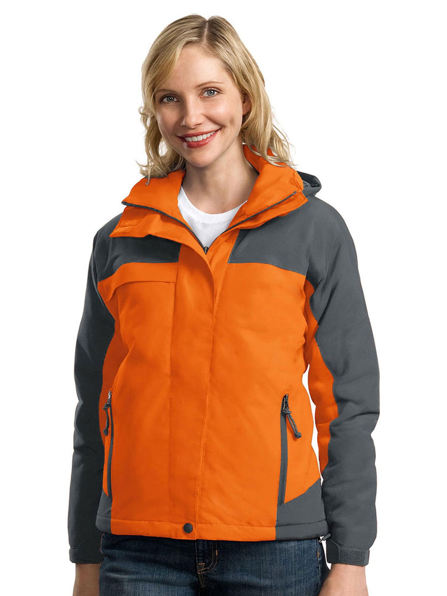 Port Authority Women's Waterproof Nootka Jacket_Black/Black_XXXX-Large