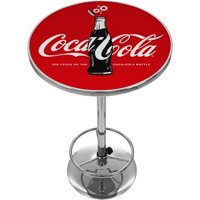 Coca-Cola Chrome Pub Table, 100th Anniversary of the Coca-Cola Bottle