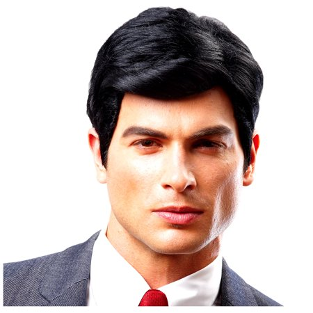 Costume Culture by Franco Real Man Wig for Adults, Features a Thick Black Hairstyle Straight from the Fashion