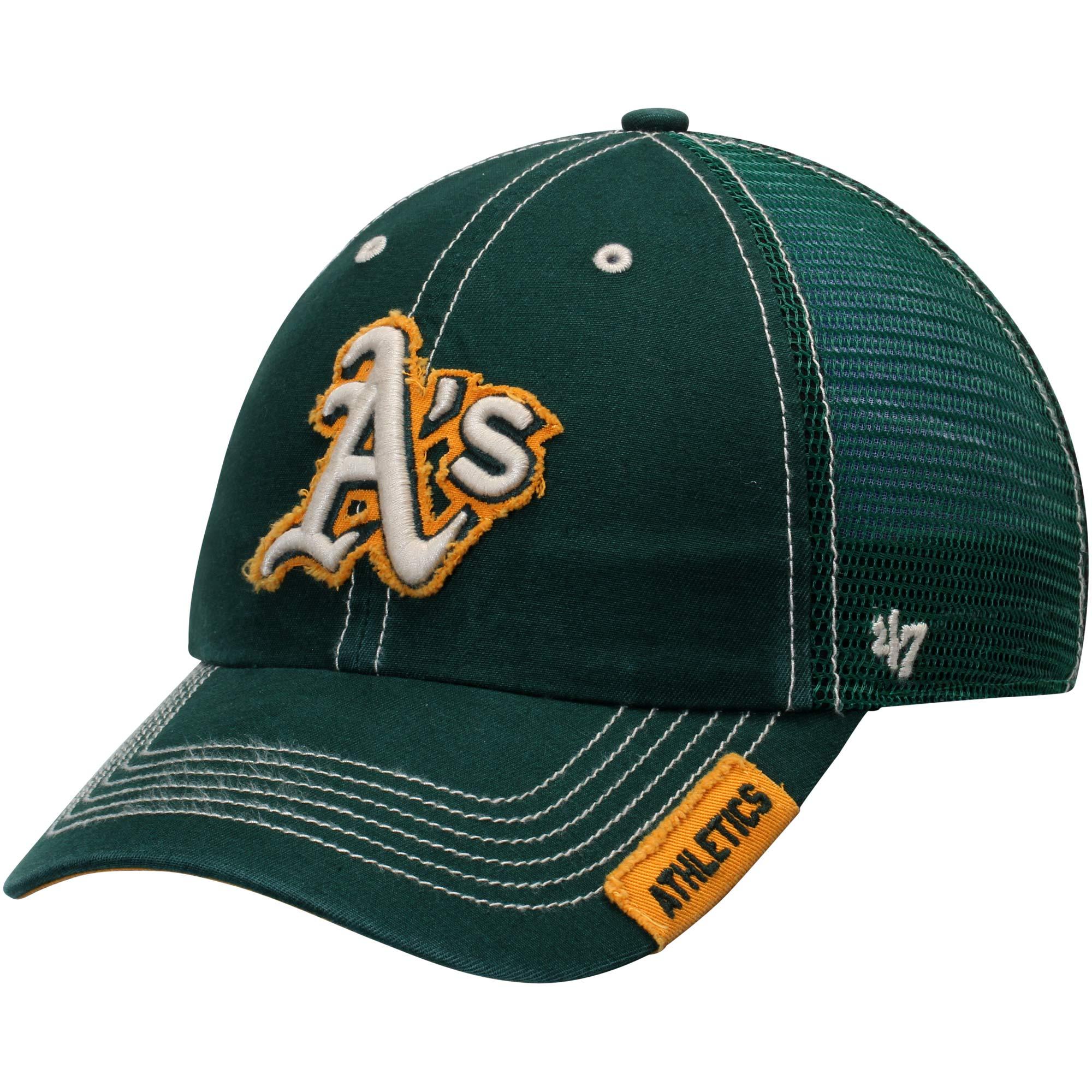 Oakland Athletics '47 Turner Clean-Up Adjustable Hat - Green - OSFA