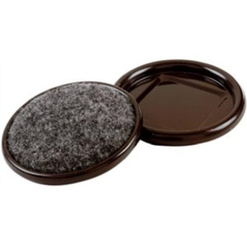 SHEPHERD HDWE. PROD., LLC. 4-Pack 2-1/2-Inch Round Furniture Caps