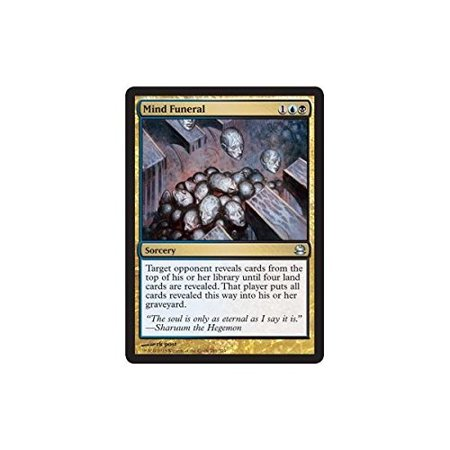 Masters Single Card - - Mind Funeral - Modern Masters, A single individual card from the Magic: the Gathering (MTG) trading and collectible card game (TCG/CCG). Ship from US