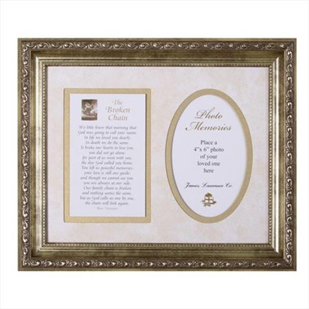 Broken Chain Framed Art with inspirational prayers and words from Scripture - Inspirational Prayer