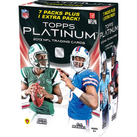 Topps 2013 Platinum Football Cards Box