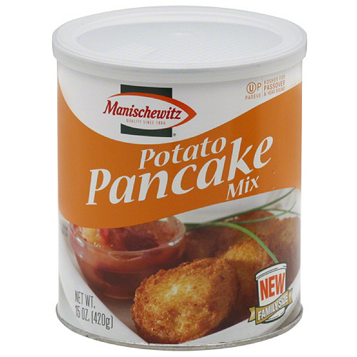 Manischewitz Family Size Potato Pancake Mix, 15 oz, (Pack of 12)