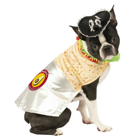 Disfraces Halloween Mexico (Burrito Pet Funny Mexican Food Animal Halloween Costume)