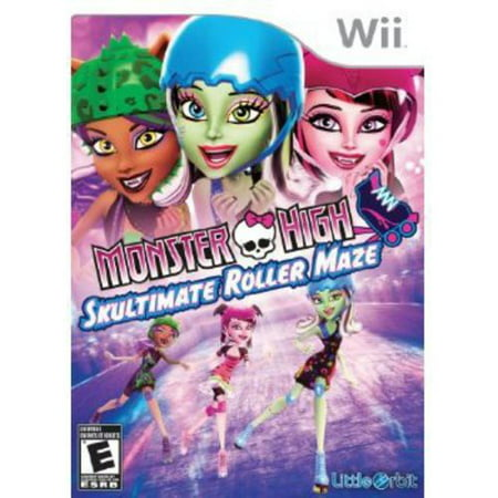 Monster High: Skultimate Roller Maze - Nintendo Wii