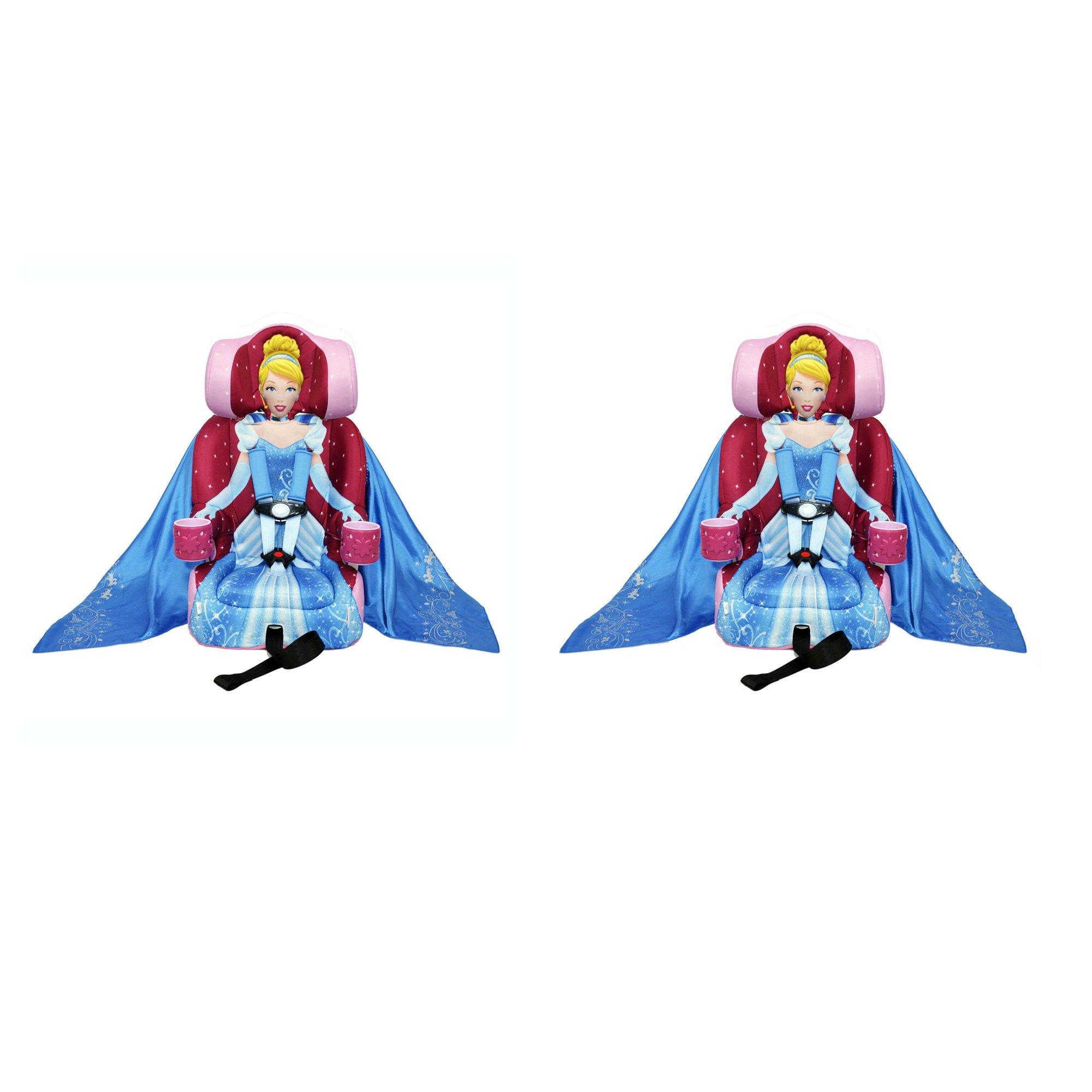 Kids Embrace Disney Cinderella Combo Harness Booster Toddler Car Seat  (2 Pack)