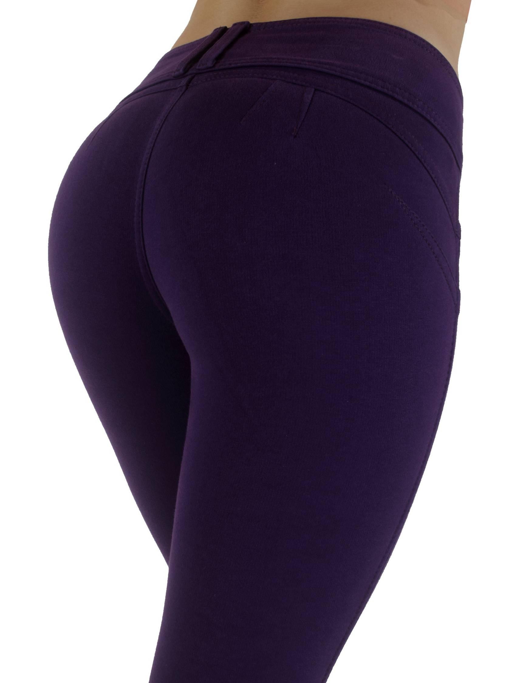 Premium Stretch Cotton,Butt lift,Levanta Cola,Skinny Leg Fashion Pants-25 Colors