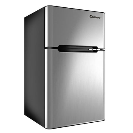 Stainless Steel Refrigerator Small Freezer Cooler Fridge Compact 3.2 cu ft. - image 10 of 10