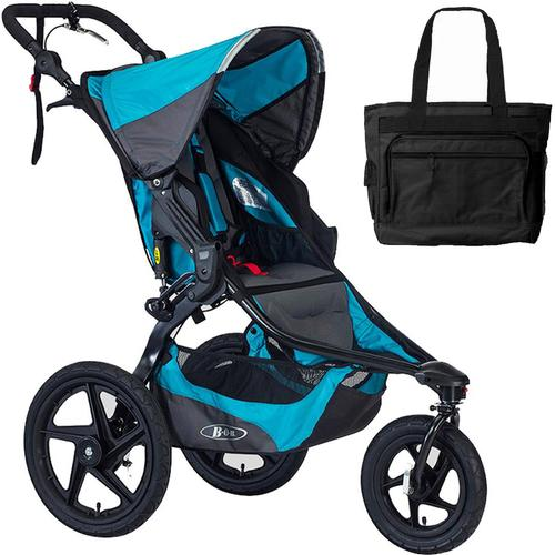 BOB Revolution Revolution Pro Jogging Stroller With Bag Lagoon