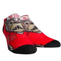 NC State Wolfpack Rock Em Socks Women's Mascot Low Ankle-Length Socks