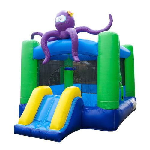 Kiddo Octopus Jump 'N' Slide Fun House