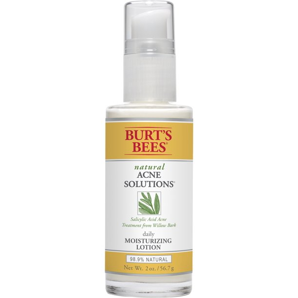 Burt S Bees Natural Acne Solutions Daily Moisturizing Lotion Face
