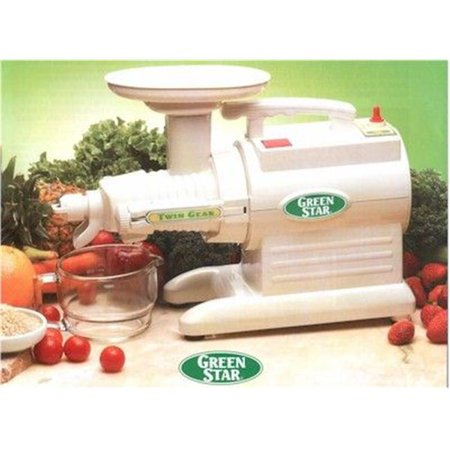 Tribest GS-3000-220V Green Star GS-3000 Deluxe 220 (Tribest Z Star Manual Hand Crank Juicer)