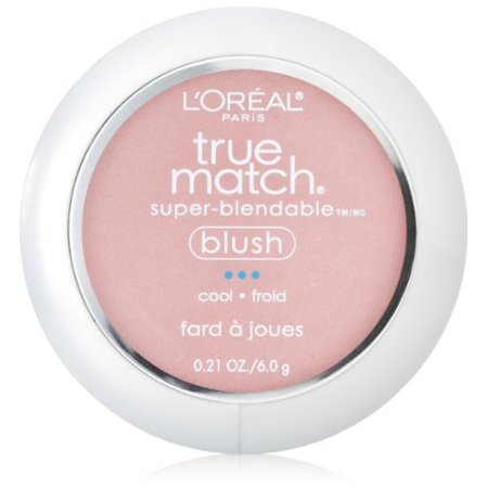 Bush Rose (L'Oreal Paris True Match Super-Blendable Blush, Soft Powder Texture, Tender Rose, 0.21 oz. )
