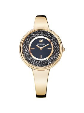 Swarovski Women's Crystalline Pure Metal Rose Gold-Tone Watch 5295334