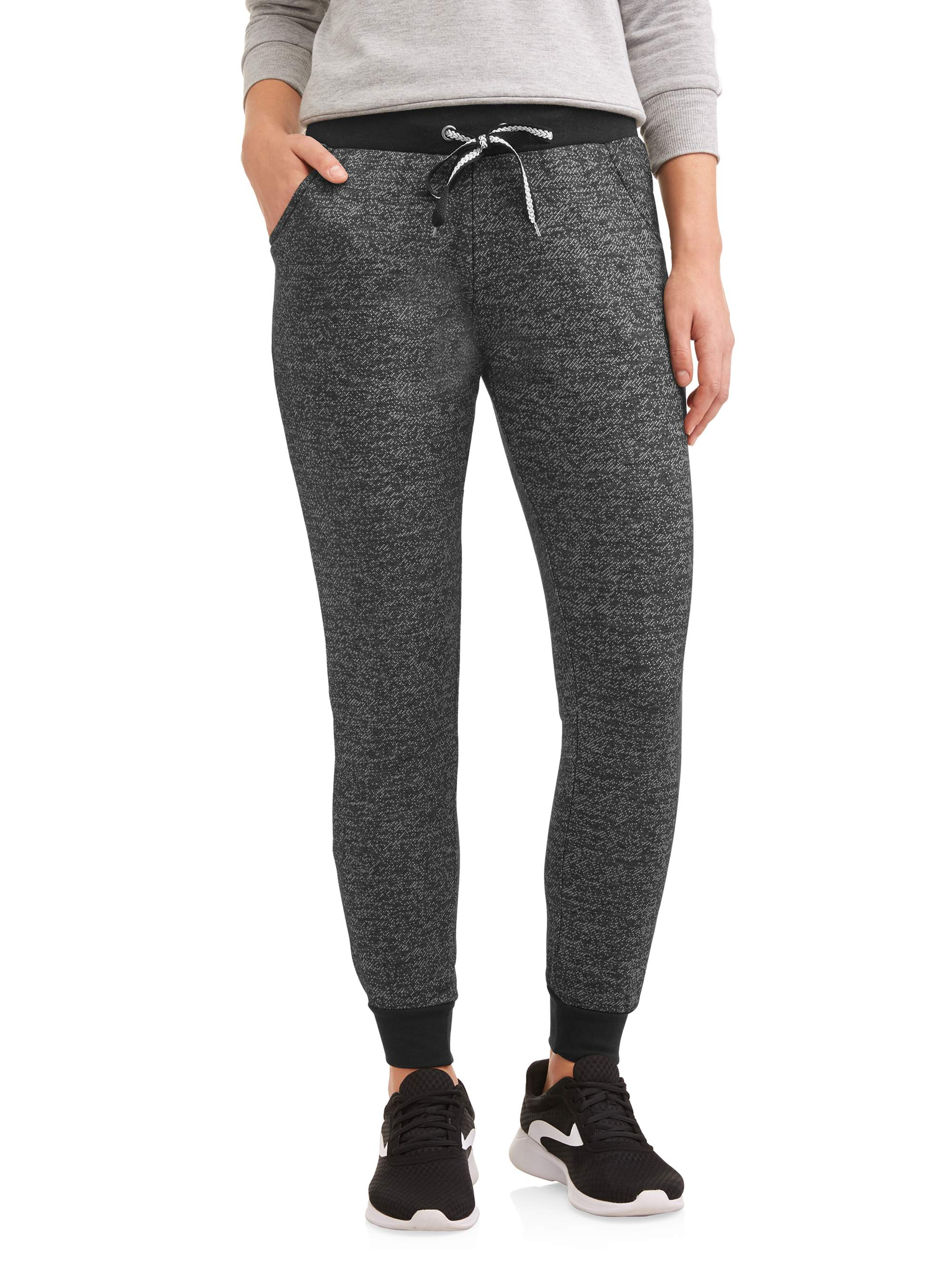 Women's and Women's Plus Athleisure Tweed Pant