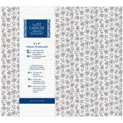 "Papermania Parisienne Blue Postbound Album, 8"" x 8"""