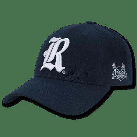 NCAA Rice University Structured Acrylic Baseball 6 Panels Caps (Rice University Fans)