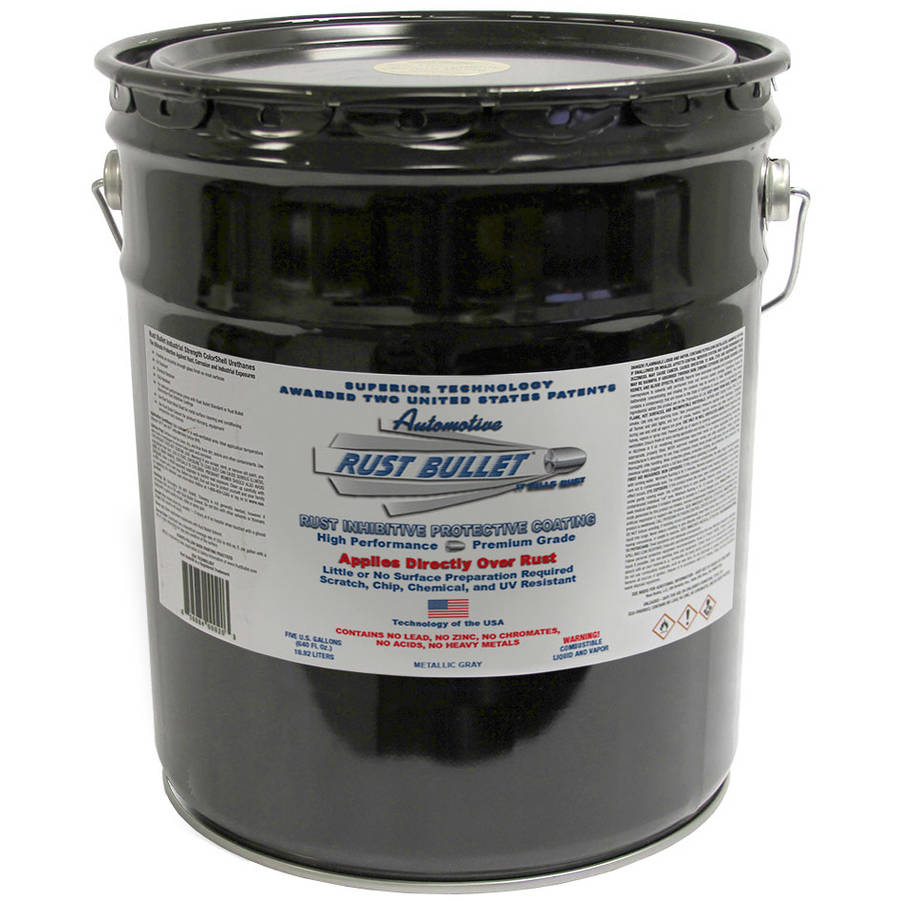 Rust Bullet Automotive, Rust Inhibitive Rust Paint, 5-Gallon Pail