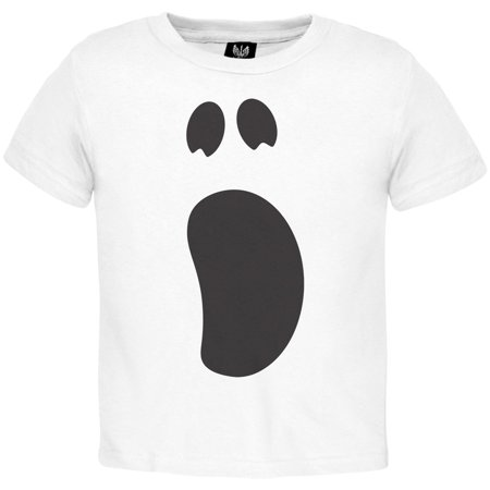 Halloween Ghost Face 2 Toddler Costume T-Shirt](Halloween Face Paint Ideas For Toddlers)