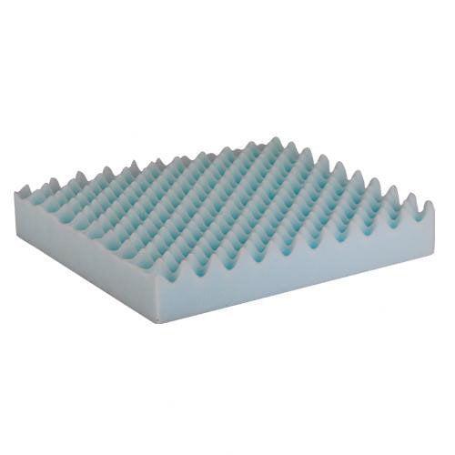 Nova Ortho-Med, Inc. 3'' Convoluted Foam Cushion for 18'' x 16'' Wheelchair