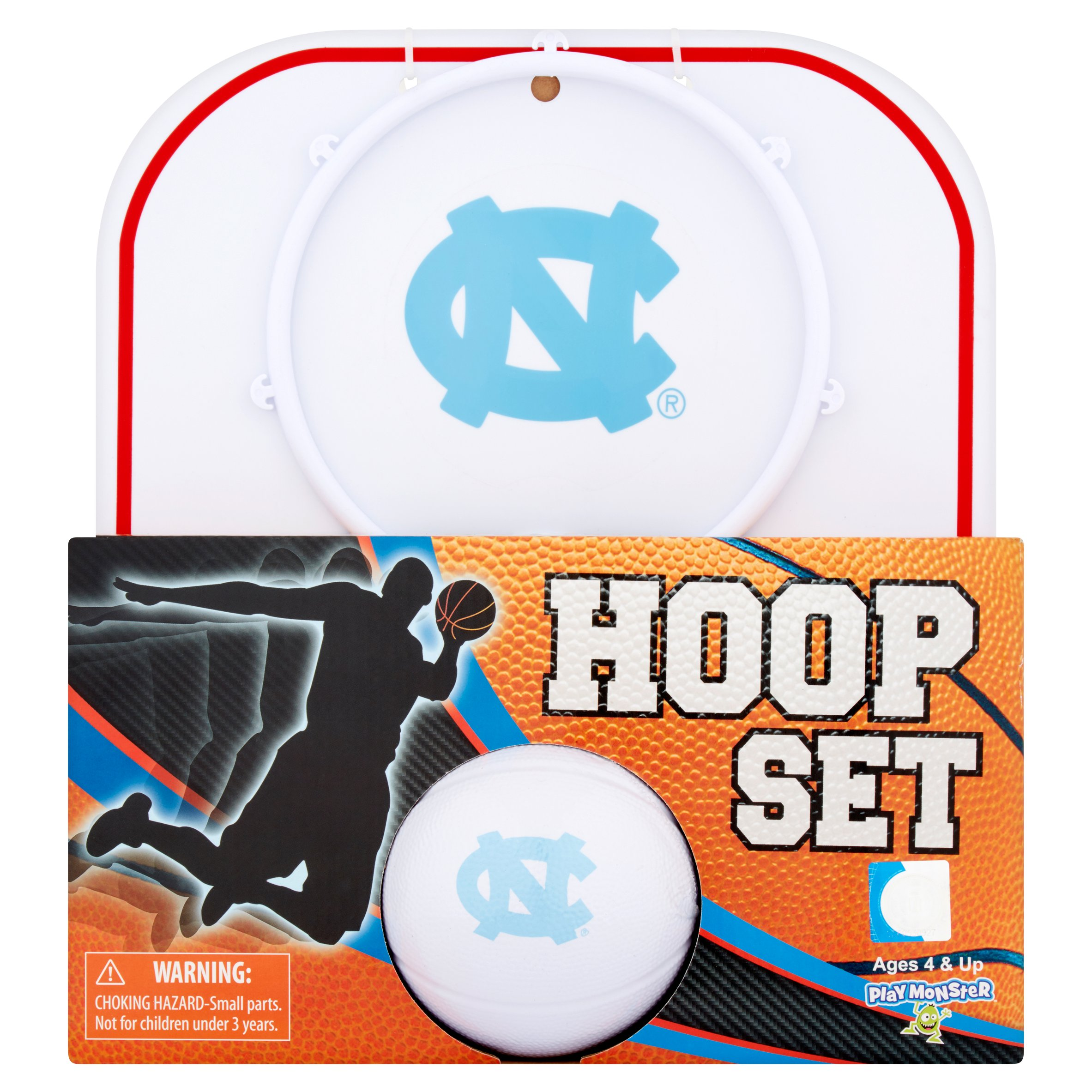 Officially Licensed NCAA North Carolina Hoop Set