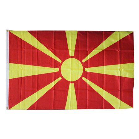 Macedonia, Republic of - 3'X5' Polyester Flag