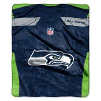 "Seattle Seahawks The Northwest Company 50"" x 60"" Jersey Grand Stand Plush Blanket - No Size"