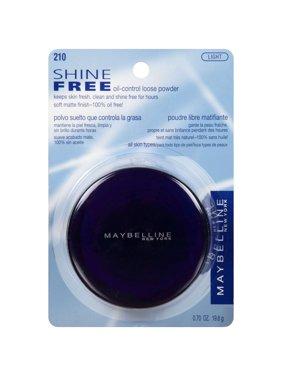 Maybelline Shine Free Oil-Control Loose Powder, Light, 0.7 oz.