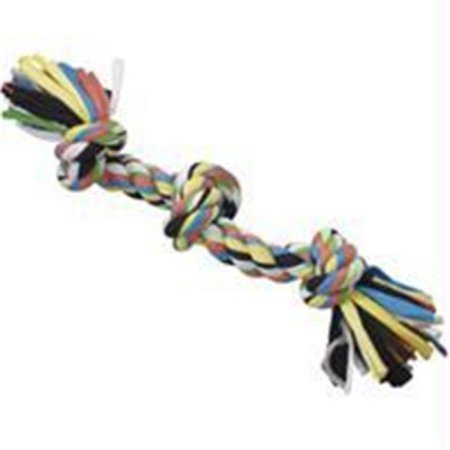 Ethical Pet Tuggin' Tees 3-Knot Rope Dog Toy, 15