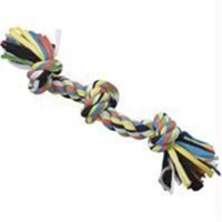 Ethical Pet Tuggin' Tees 3-Knot Rope Dog Toy, 15""