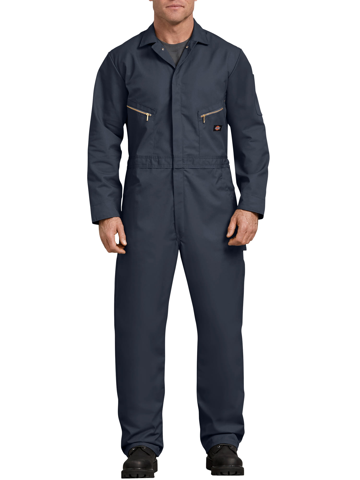 d31ca74b99a1 Dickies - Men s Long Sleeve Deluxe Blended Twill Coverall - Walmart.com
